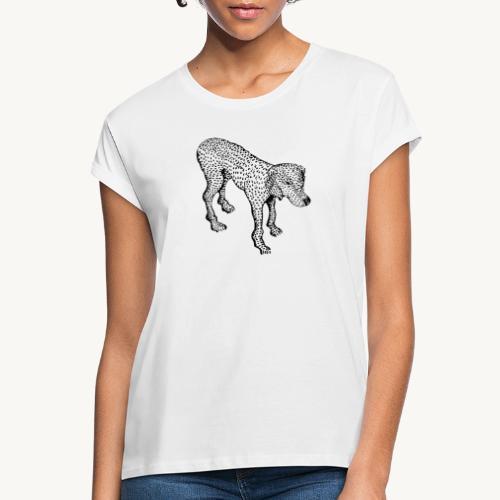 Hund - Frauen Oversize T-Shirt