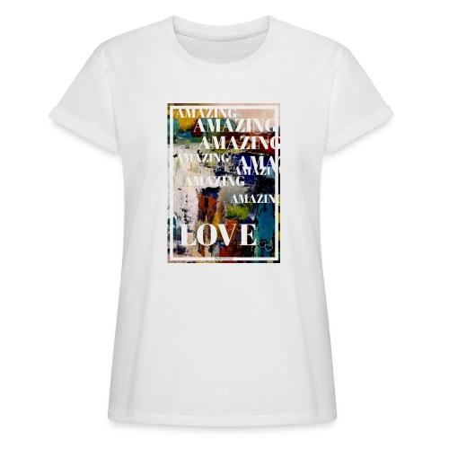 Amazing Love - Oversize-T-shirt dam