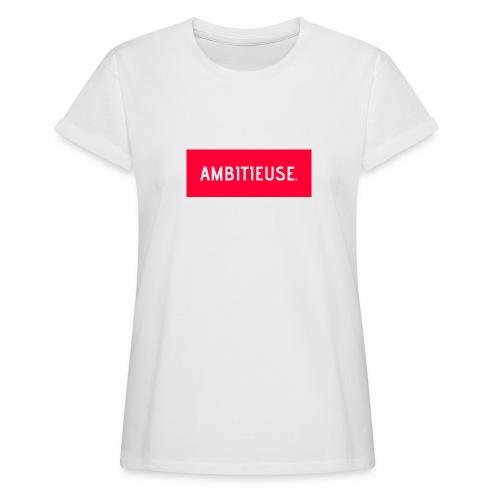 AMBITIEUSE - T-shirt oversize Femme