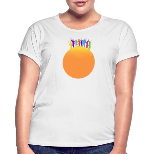 Soleil - T-shirt oversize Femme