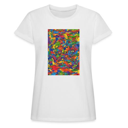 Color_Style - Camiseta holgada de mujer