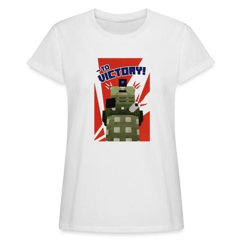 Dalek Mod - To Victory - Women's Oversize T-Shirt