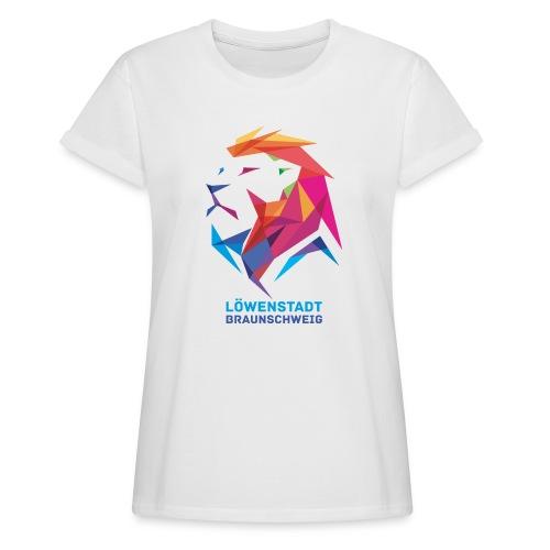 Löwenstadt Design 7 - Frauen Oversize T-Shirt