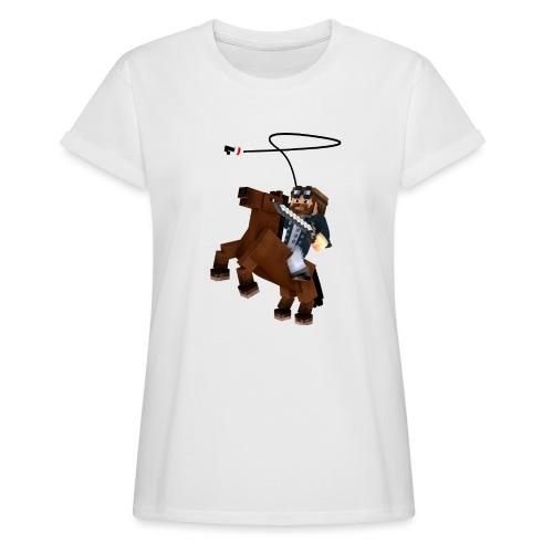 Titan y su rocinante café - Camiseta holgada de mujer