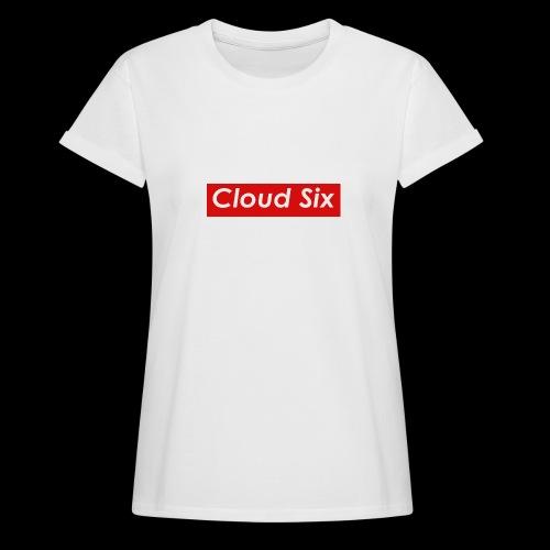 Cloud Six - Naisten oversized-t-paita