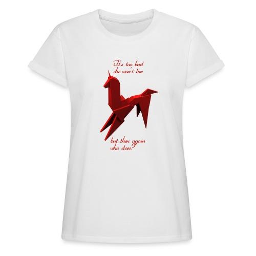 UnicornioBR2 - Camiseta holgada de mujer