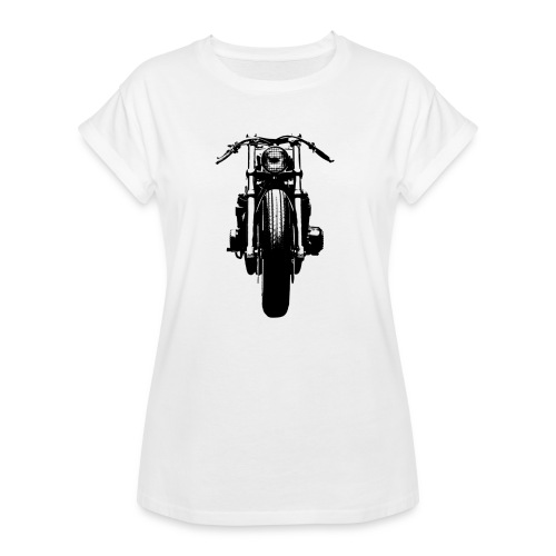 Motorcycle Front - Women's Oversize T-Shirt
