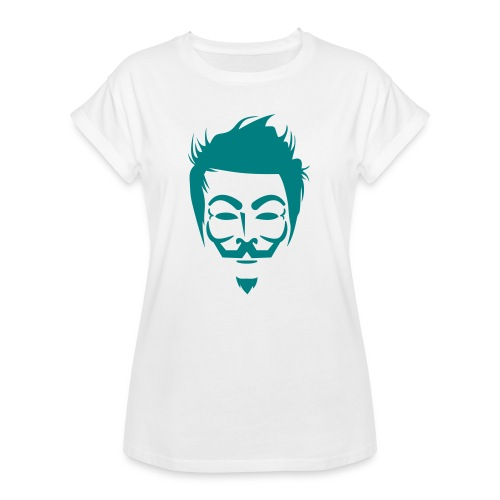 Anonymous Hipster - T-shirt oversize Femme