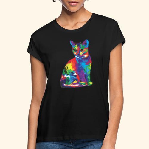 Gato fantástico - Camiseta holgada de mujer