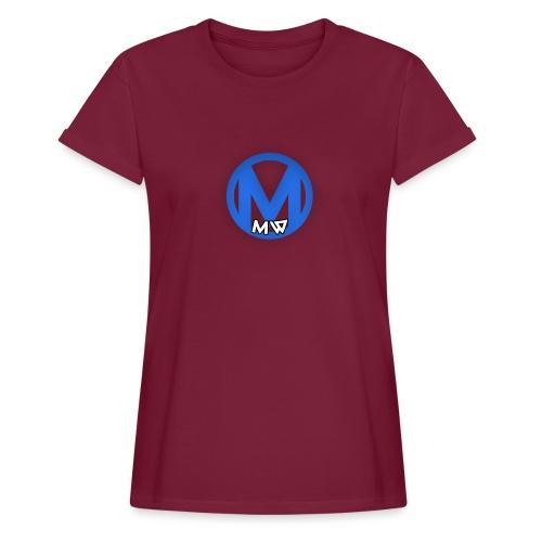 MWVIDEOS KLEDING - Vrouwen oversize T-shirt