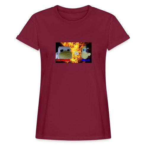TGCHICKEN VS POLLO - Maglietta ampia da donna