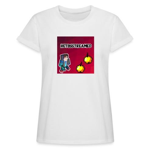 Logo kleding - Vrouwen oversize T-shirt