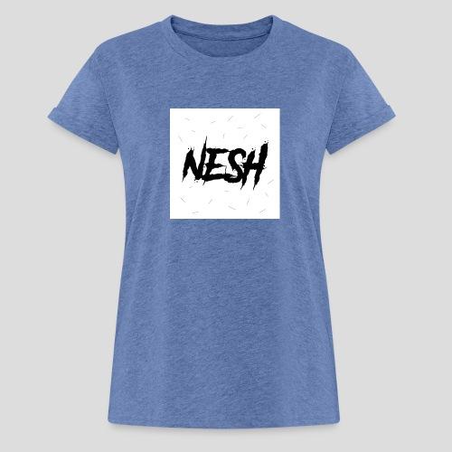 Nesh Logo - Frauen Oversize T-Shirt