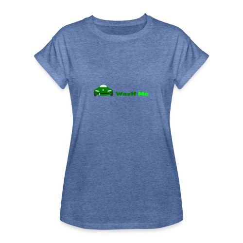 wash me - Women's Oversize T-Shirt