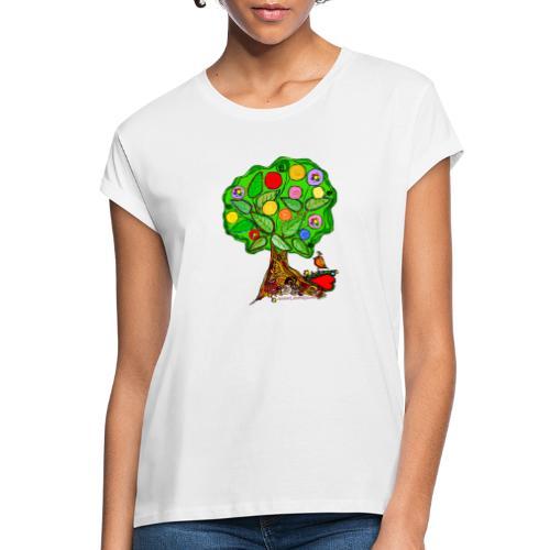 LebensBaum - Frauen Oversize T-Shirt