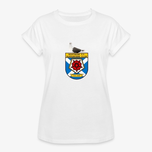 Montrose FC Supporters Club Seagull - Women's Oversize T-Shirt