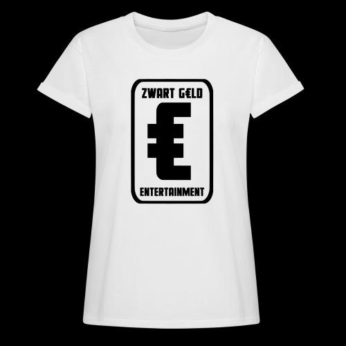 ZwartGeld Logo Sweater - Vrouwen oversize T-shirt