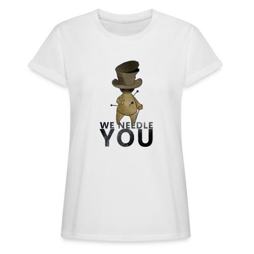 WE NEEDLE YOU - T-shirt oversize Femme