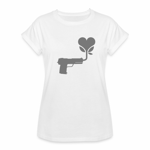 Local Underground logo flat - Women's Oversize T-Shirt