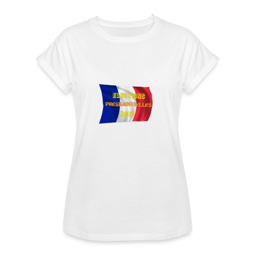 ELECTIONS 2017 - T-shirt oversize Femme