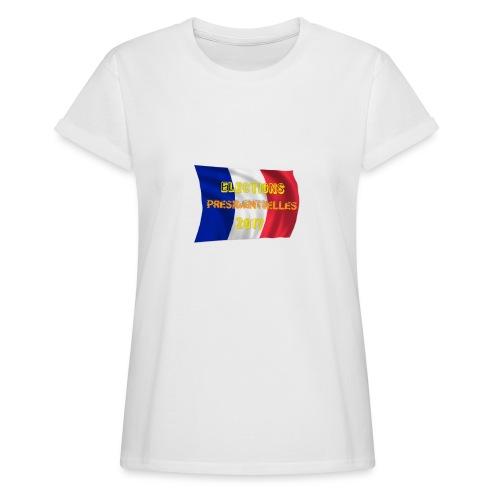 ELECTIONS 2017 - T-shirt oversize Femme