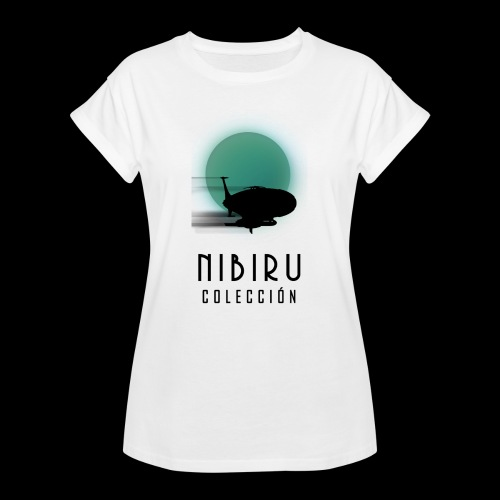 NibiruLogo - Camiseta holgada de mujer