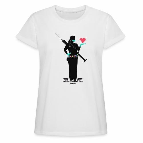Nuestras Heroinas. - Camiseta holgada de mujer