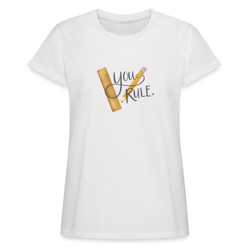 You rule! - Oversize-T-shirt dam
