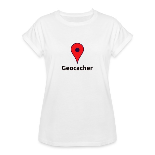Geocacher - Frauen Oversize T-Shirt