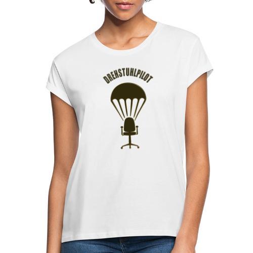 Drehstuhlpilot - Frauen Oversize T-Shirt
