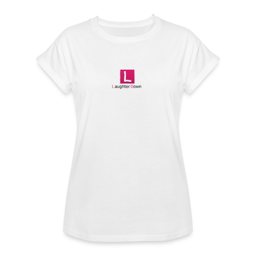 laughterdown official - Women's Oversize T-Shirt