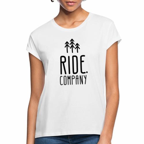 RIDE.company Logo - Frauen Oversize T-Shirt