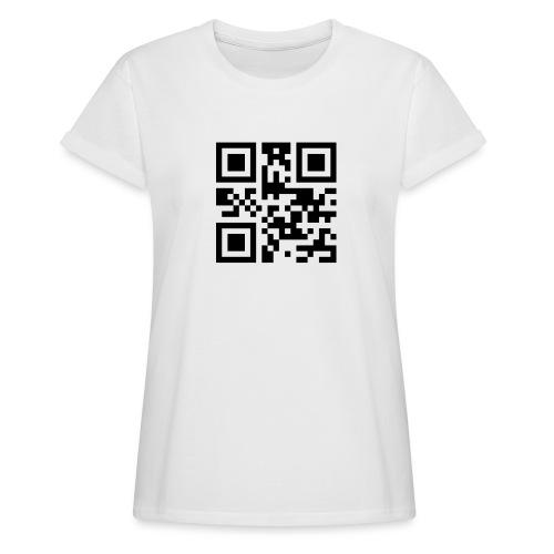 Sono Single QR Code - Maglietta ampia da donna