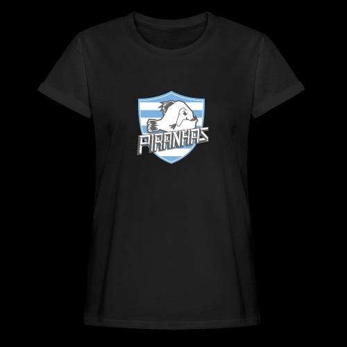 Logo Piranhas v5 - T-shirt oversize Femme