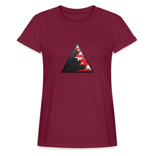 Climb high as a mountains to achieve high - Women's Oversize T-Shirt