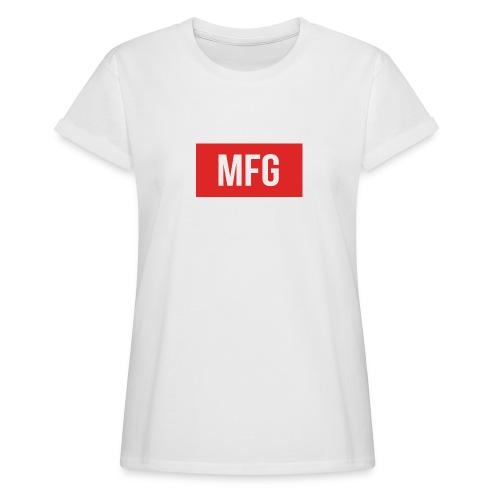 MFG on Youtube Logo - Women's Oversize T-Shirt