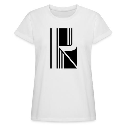 Motif en K - T-shirt oversize Femme