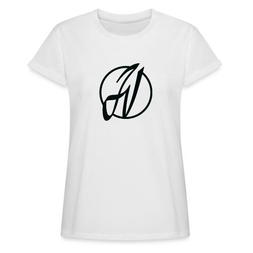 JV Guitars - logo noir - T-shirt oversize Femme