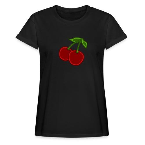 cherry - Koszulka damska oversize