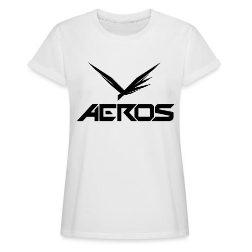 Aeros LOGO 2016 final - Vrouwen oversize T-shirt