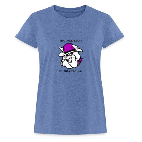 T-shirt D12M - Vrouwen oversize T-shirt