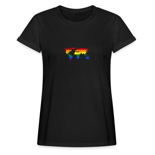 HBTQ WORLD - Oversize-T-shirt dam