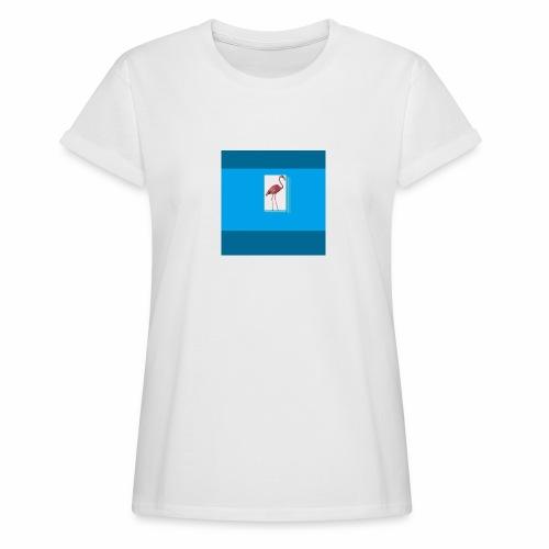 Flamingoscotteri - Maglietta ampia da donna