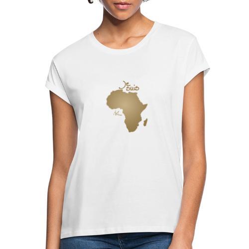 Je suis Afrique / Je suis Aklaaa - T-shirt oversize Femme