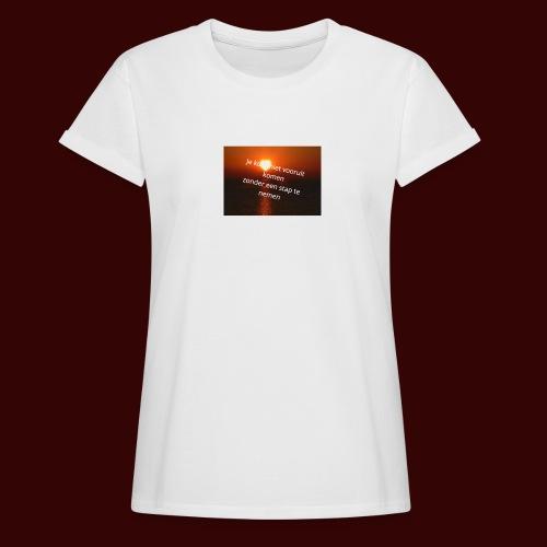 quote1 - Vrouwen oversize T-shirt
