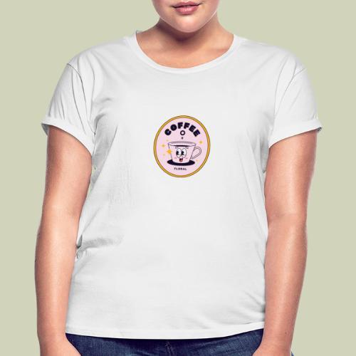 Cofee T-shirt - Dame oversize T-shirt