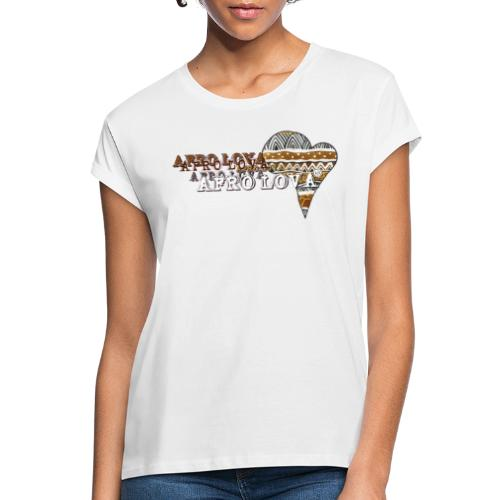 Afro Lova Savane - T-shirt oversize Femme