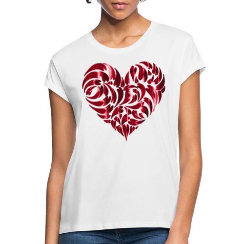 Herz - T-shirt oversize Femme