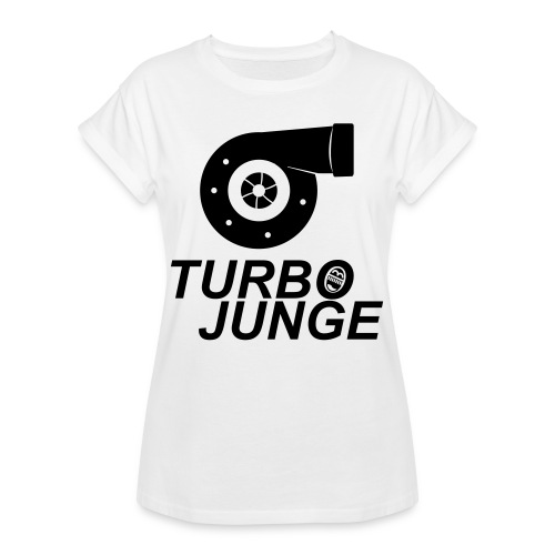 Turbojunge! - Frauen Oversize T-Shirt