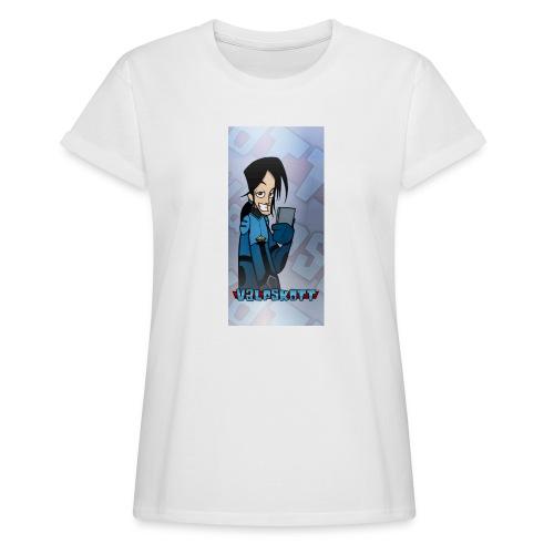 Valp Mobilskal png - Oversize-T-shirt dam